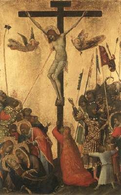 Crucifixion, Simone Martini, 1333