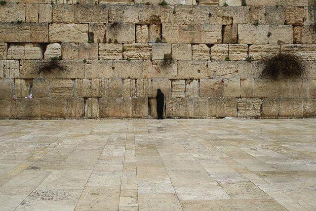 Le Mur des Lamentations, photographie d'Anthony Baratier, Jérusalem, mars 2012