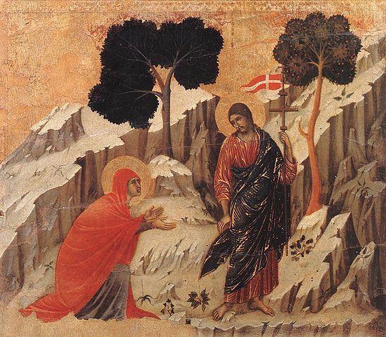 Noli me tangere, Duccio di Buoninsegna