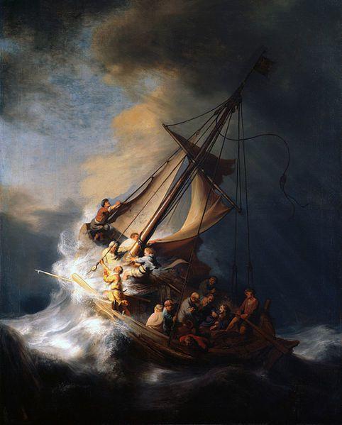 Le Christ dans la tempête sur la mer de Galilée, Rembrandt