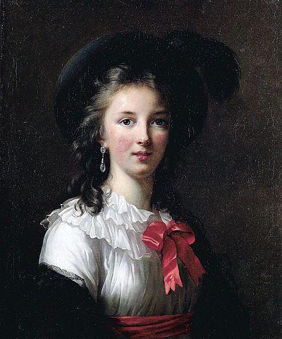 Élisabeth Vigée-Le Brun par elle-même (1781)