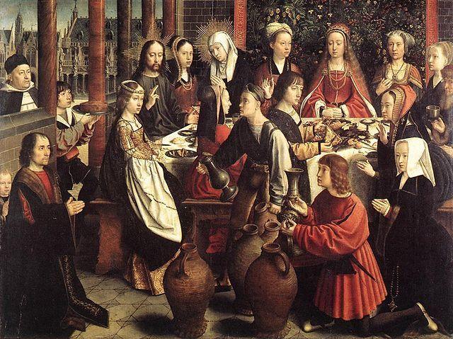 Les Noces de Cana, Gérard David, Musée du Louvre