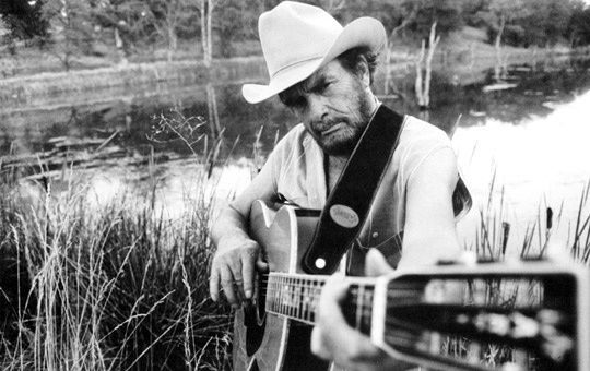 Merle Haggard  (April 6, 1937 – April 6, 2016)