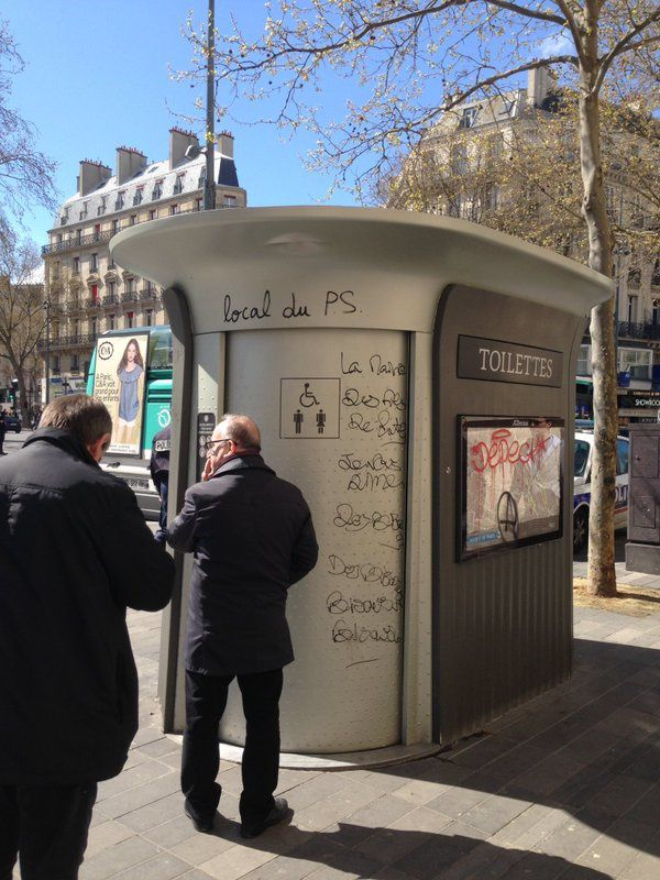 Place de la République, Paris, avril 2016