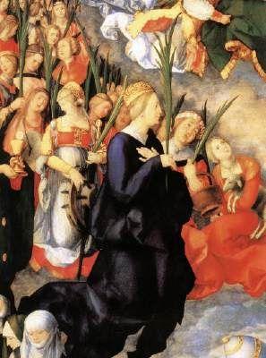 L'Adoration de la Sainte Trinité (détails)