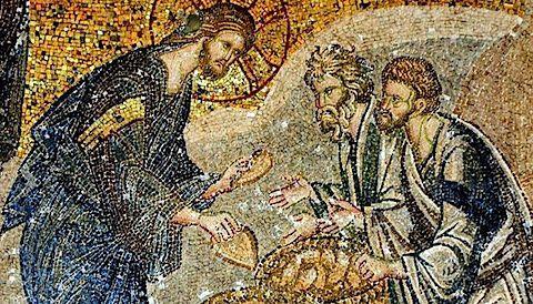 Mosaïque de la Multiplication des Pains, Saint Sauveur in Chora, Istanbul