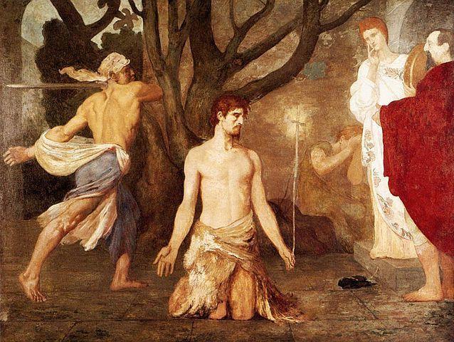 La décollation de Saint Jean-Baptiste, Puvis de Chavannes