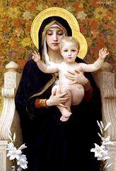 La Vierge aux lys, Bouguereau