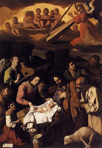 L'Adoration des bergers, Zurbarán, Musée des Beaux-Arts, Grenoble