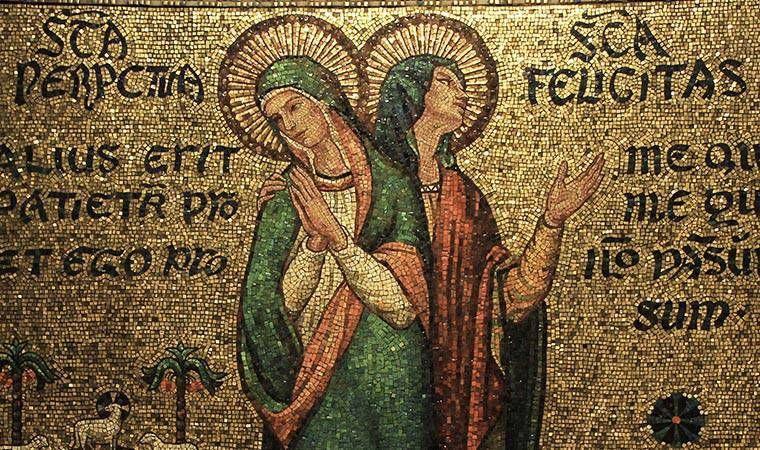 Saintes Perpétue et Félicité, Martyres, Carthage ✝ 203