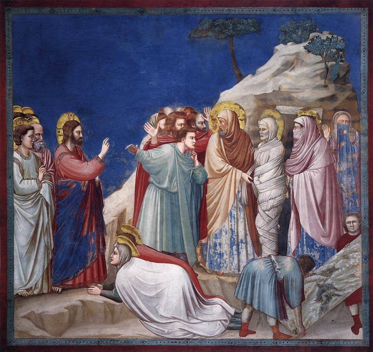 Il y avait un homme malade nommé Lazare qui était du bourg de Béthanie où demeuraient Marie et Marthe sa sœur