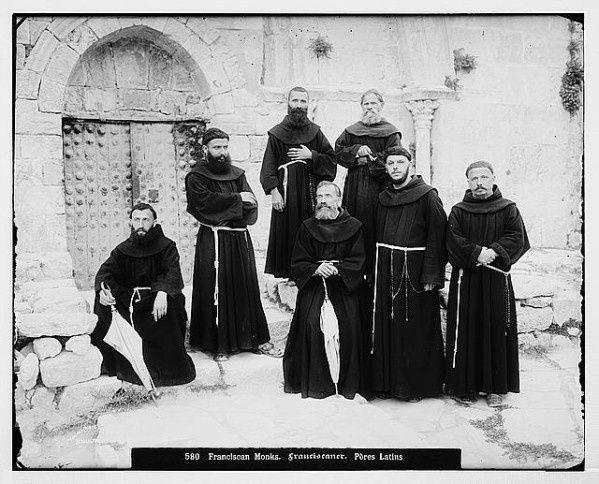 Sur la terrasse du couvent de Saint-Sauveur