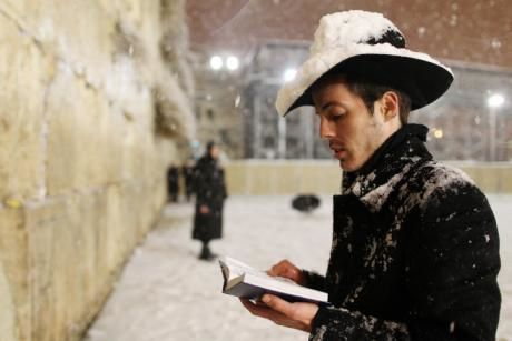 Jérusalem sous la neige - décembre 2013