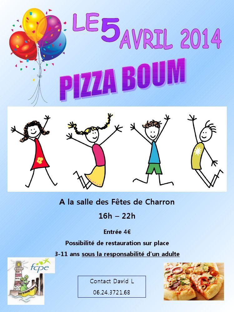 Pizza boum de Charron le 5 avril 2014