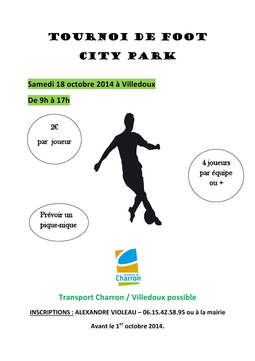 Tournoi de foot - City Stades