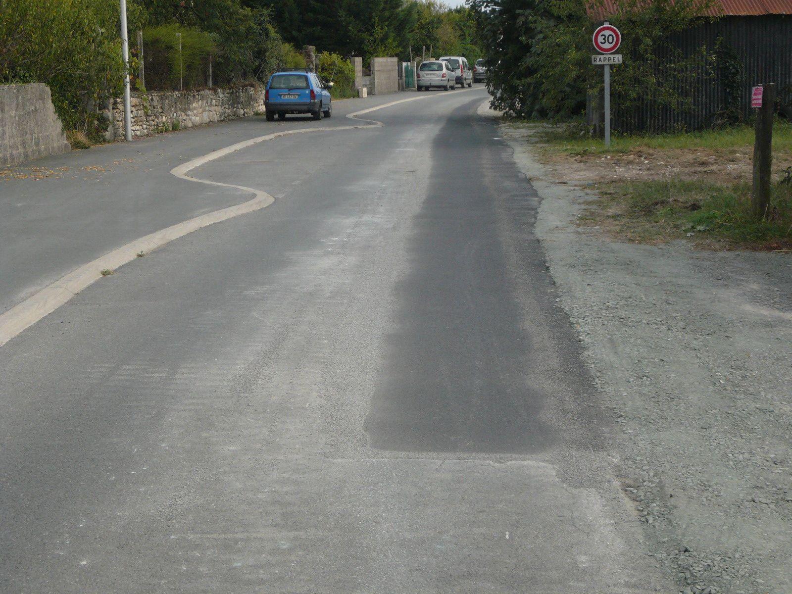 Travaux rue de la Laisse