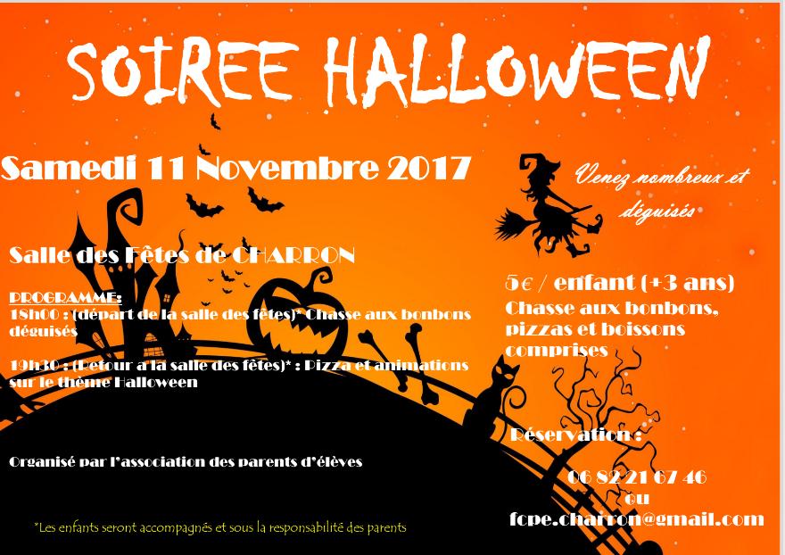 Week end Halloween et Broc' aux Joujoux le 11 et 12 novembre