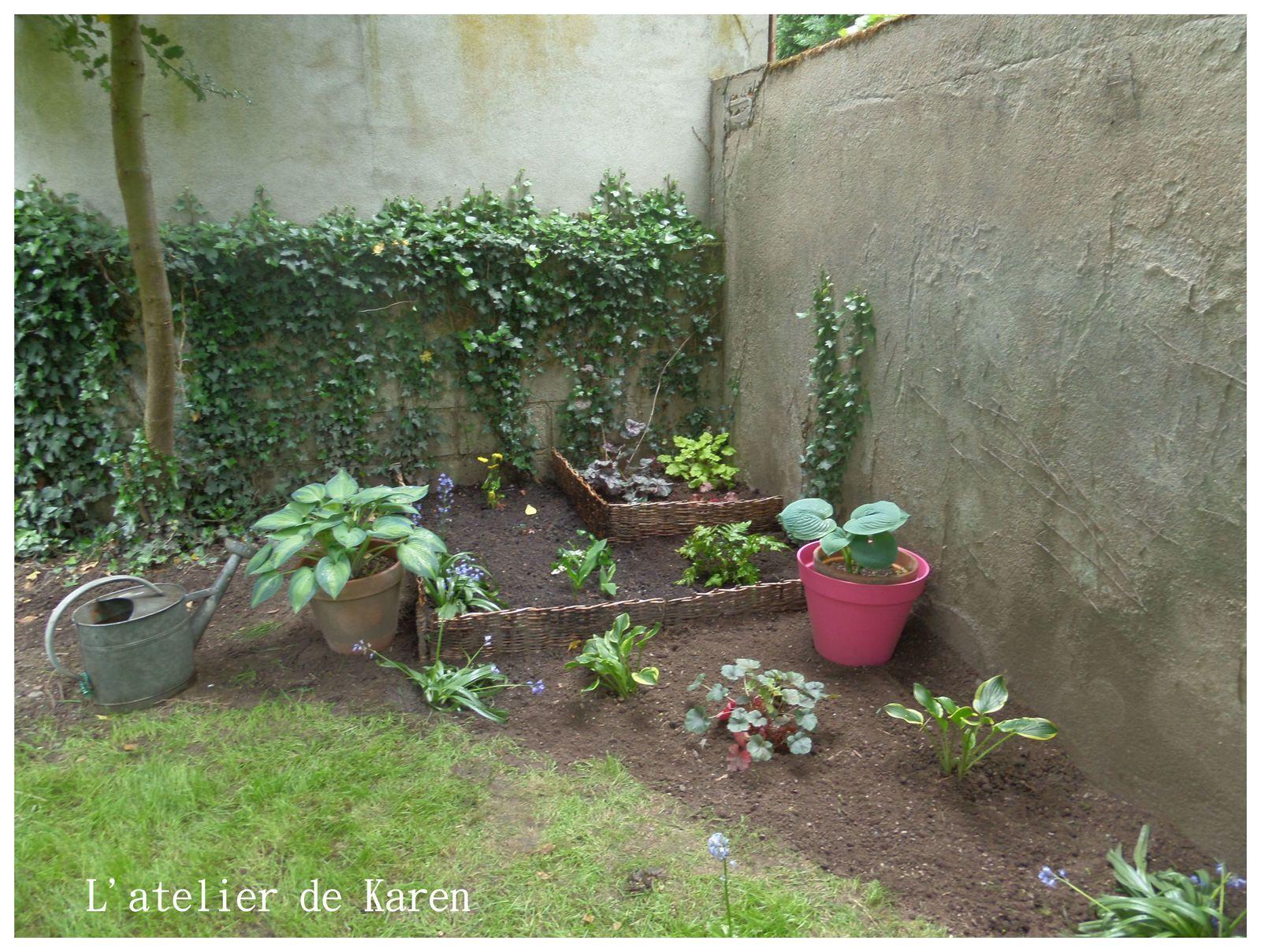 Mon jardin à petits pas...