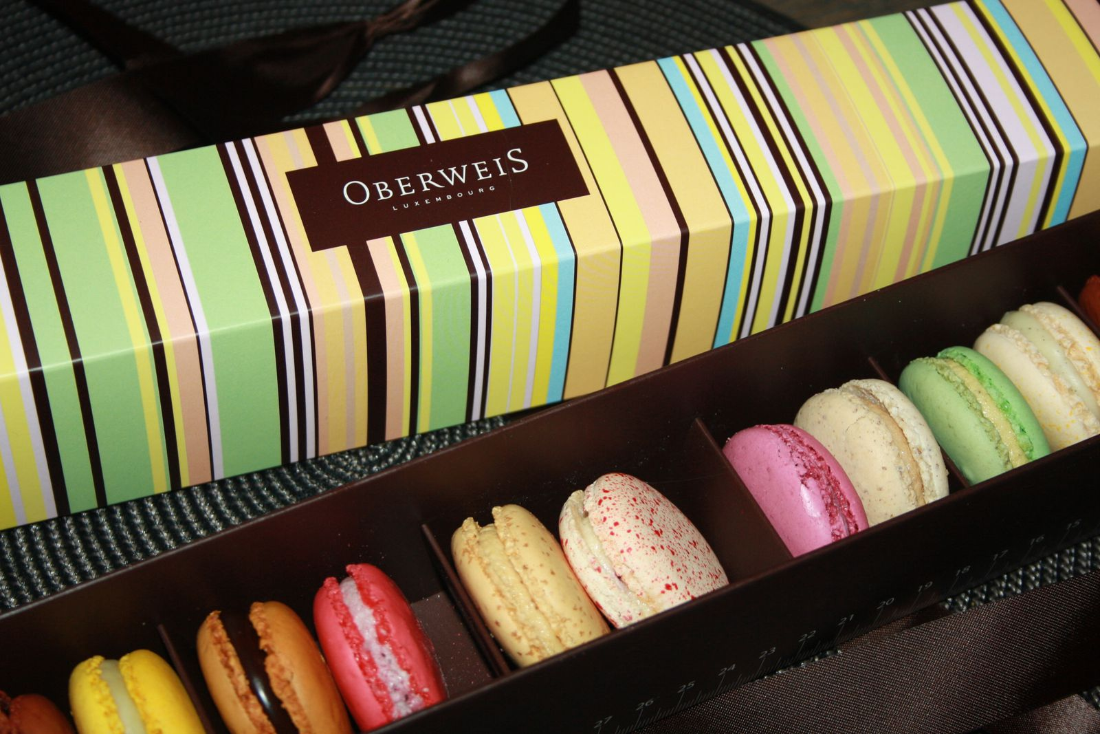 Macarons au Luxembourg