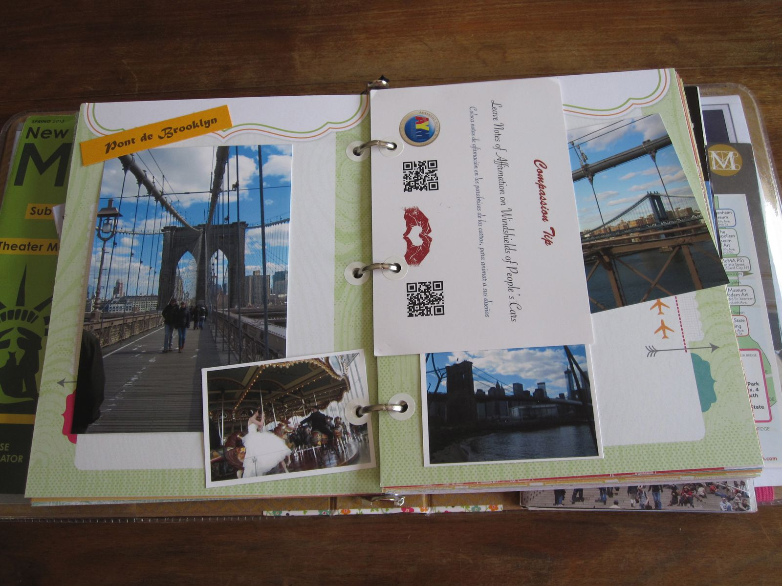 Album scrap New-York