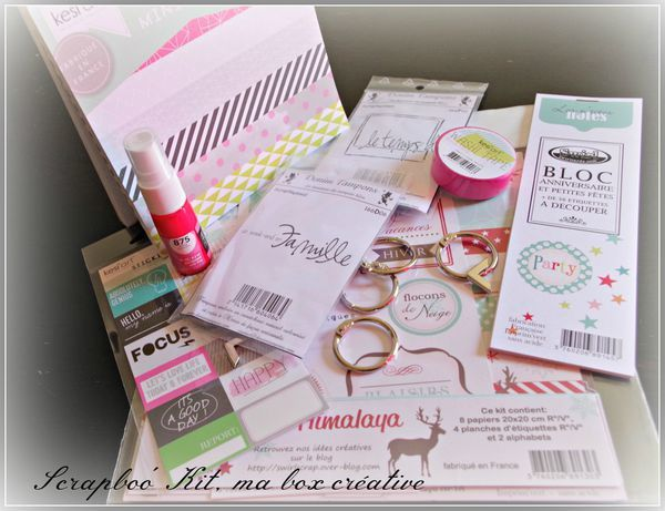 Blog candy Scrapboo'kit Ma box créative