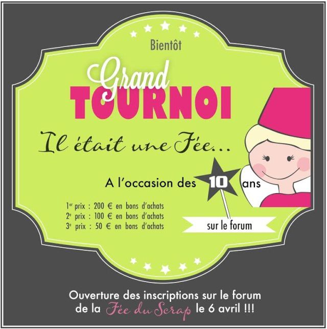 1er tour du Grand Tournoi