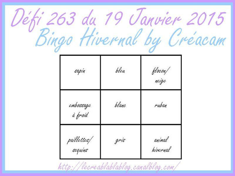 Créablablablog défi 263