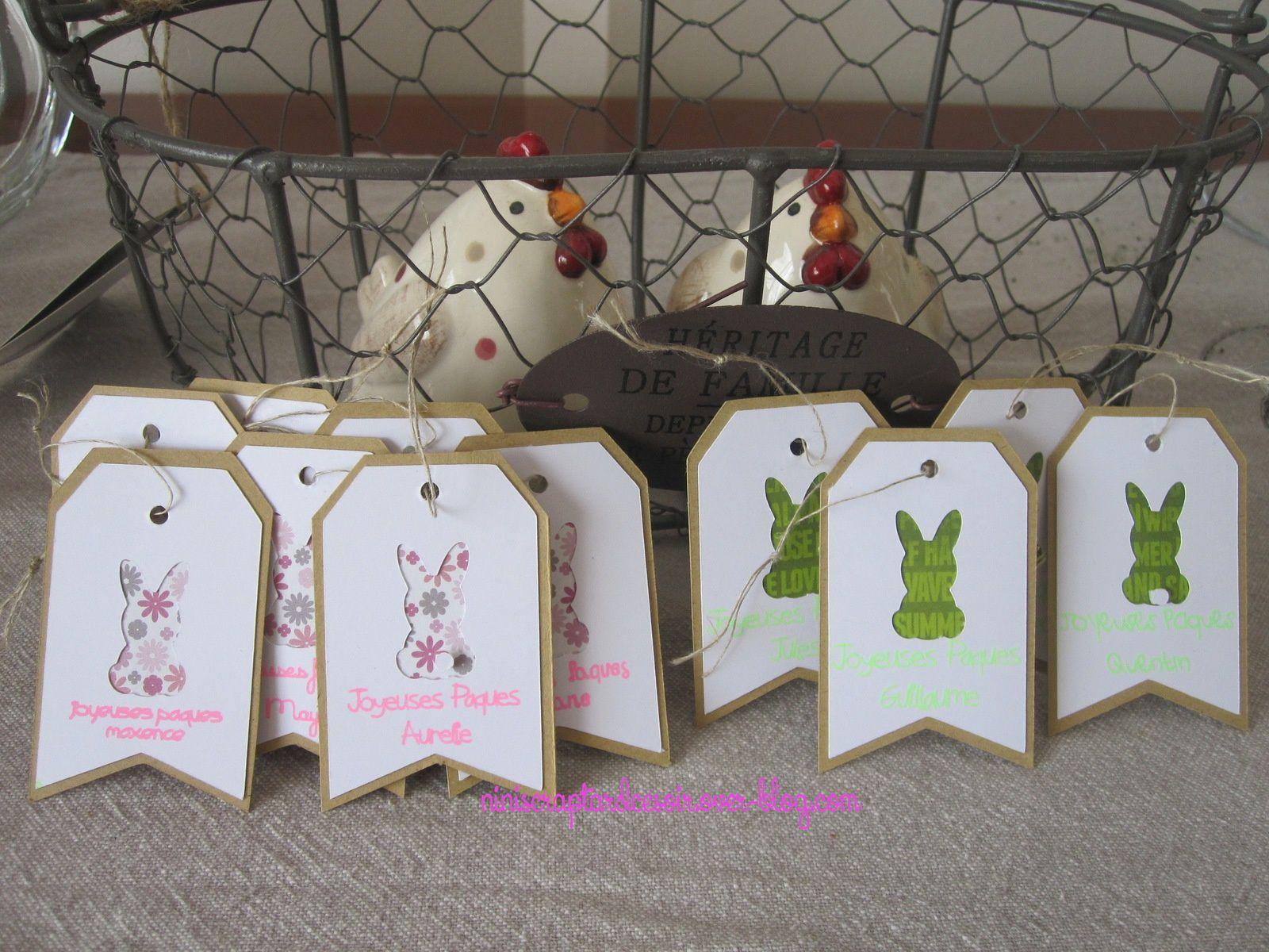 Etiquettes de Pâques