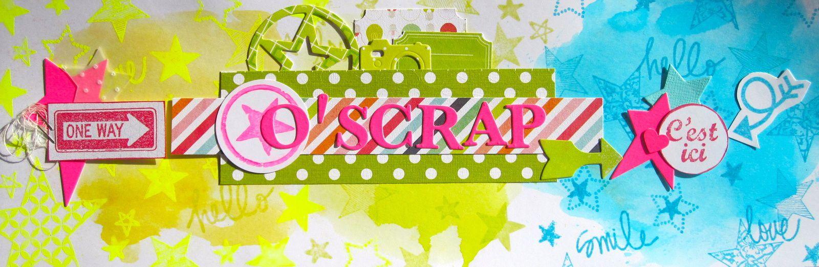 Bannière O'scrap