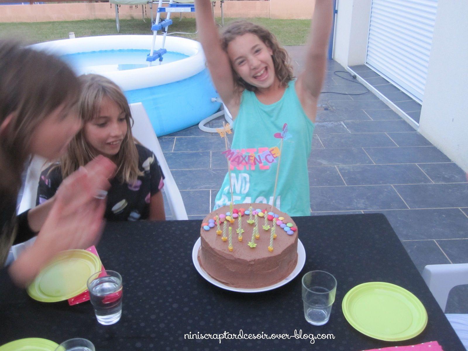 Gâteau surprise aux Smarties