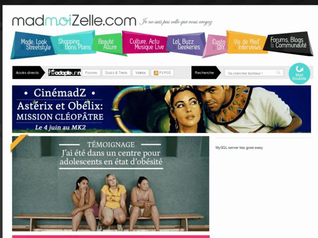 Article sur mon travail dans MadmoiZelle