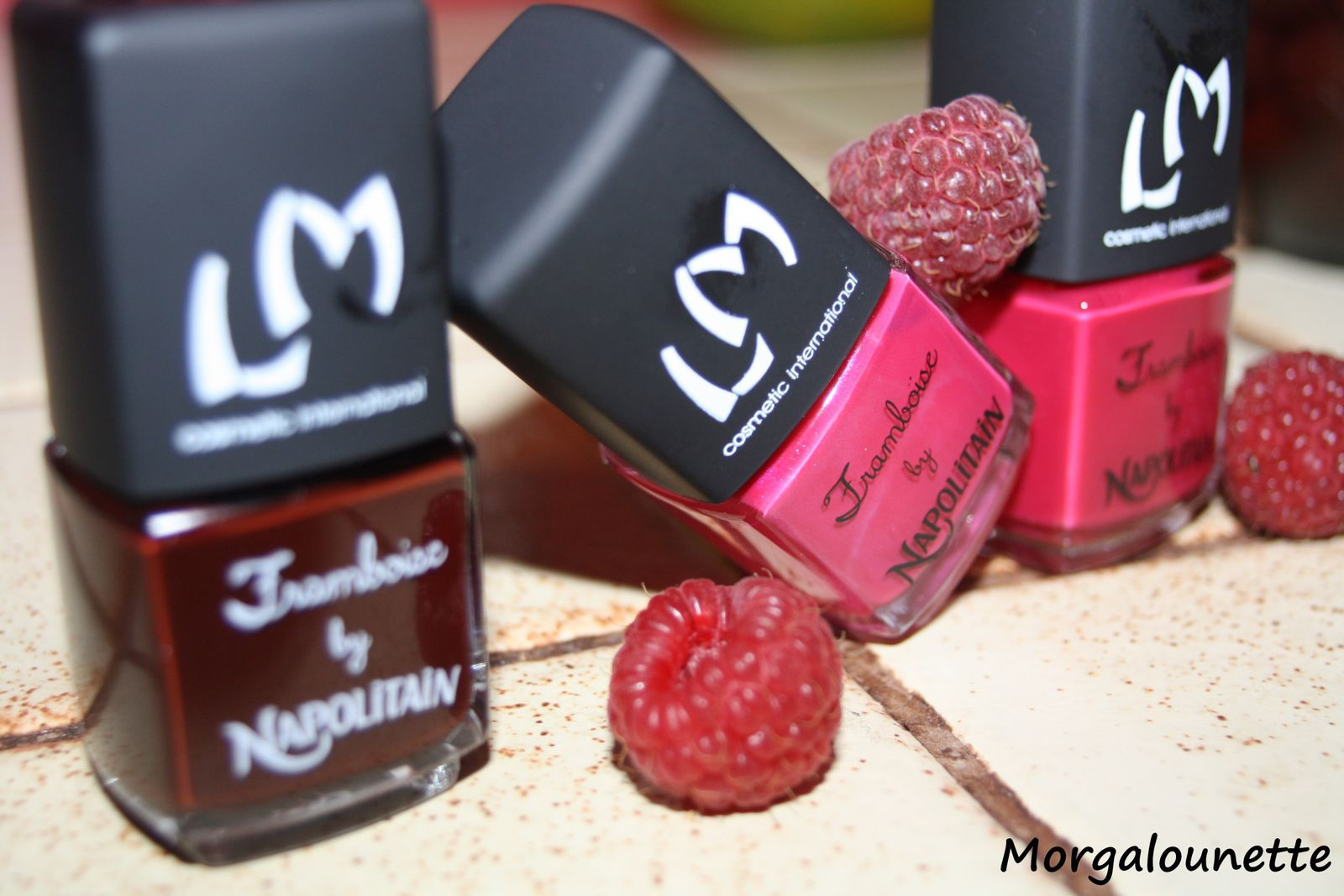 La collection Framboise by Napolitain