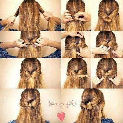 Coiffure Avec Noeud Papillon Mode Style Swagg Over Blog Com