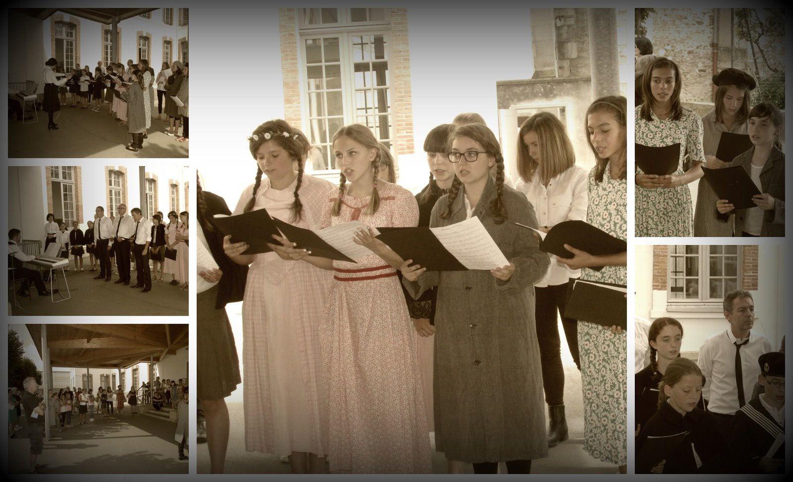 Journée du patrimoine au collège Jeanne d'Arc