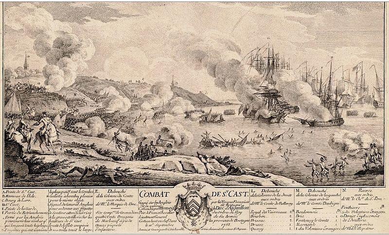 Bataille de Saint Cast