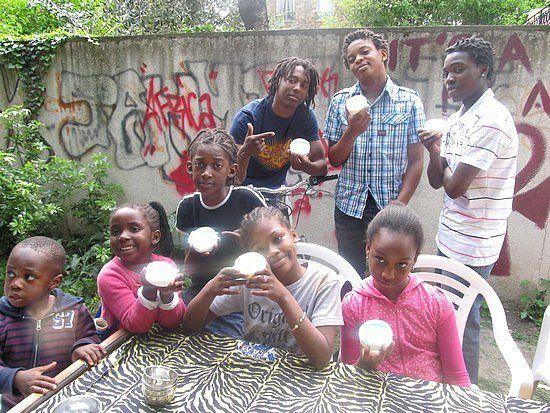 Atelier cosmétique avec les enfants du Black Pempers Center (BPC)