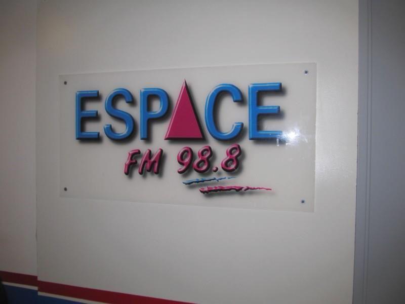 Mon passage sur la radio Espace FM