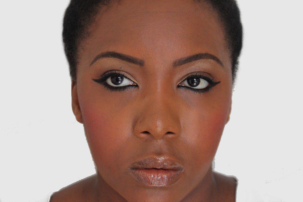 Maquillage simple &amp&#x3B; rapide débutantes [Peau noire]