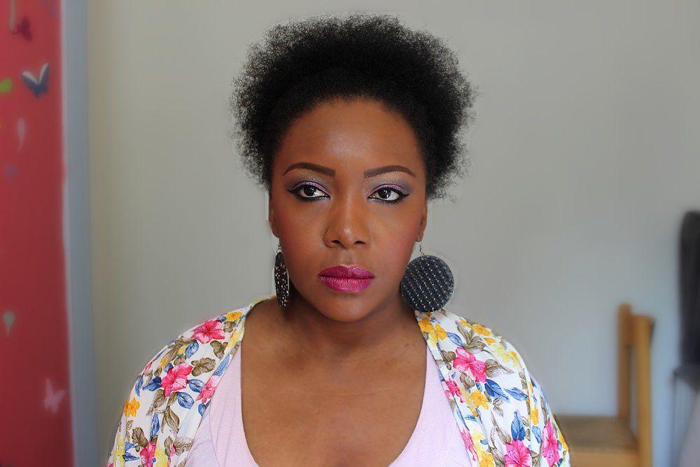 Makeup estival malgré la grisaille parisienne...