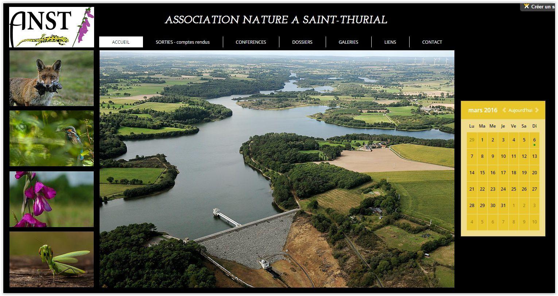 Nouveau site pour l'Association Nature à St Thurial