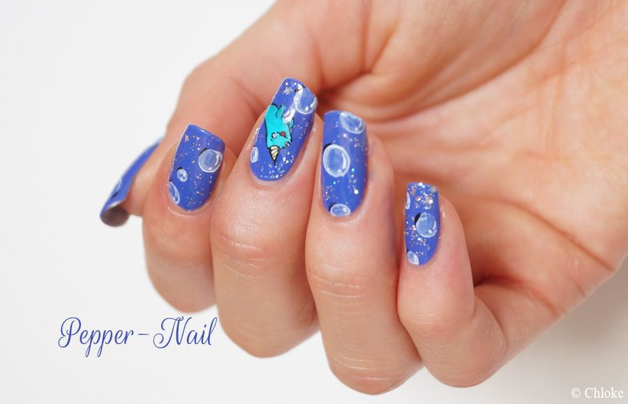 Nailstorming N°69 - Bubbles