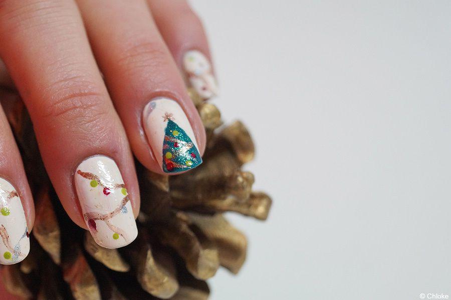 Christmas nails - Mon beau sapin