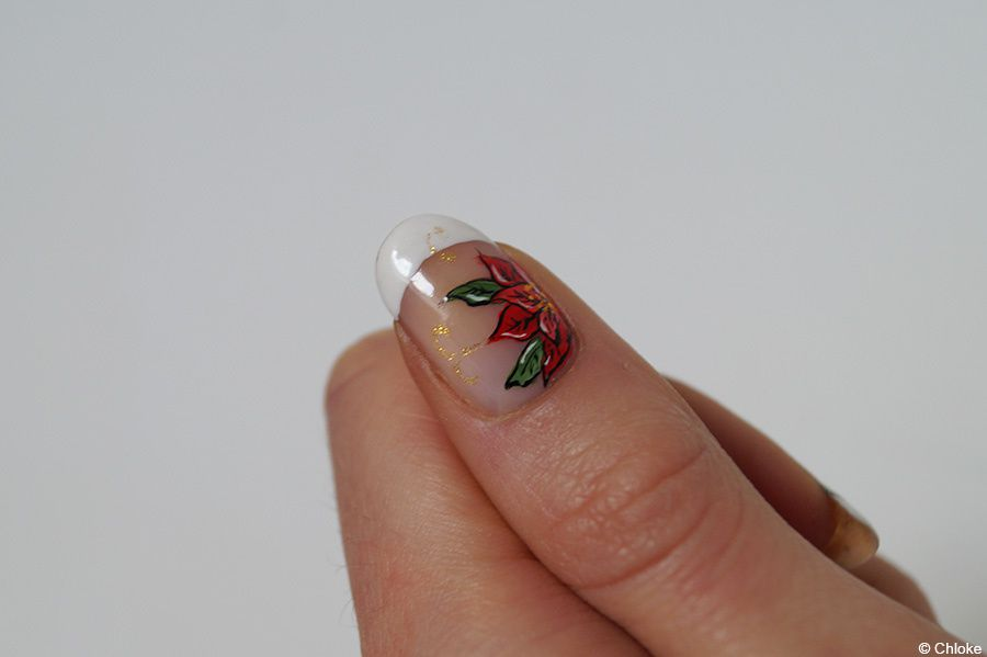 Christmas nails - Le jour J