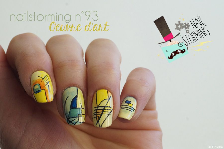 Nailstorming N°93 - Oeuvre d'art