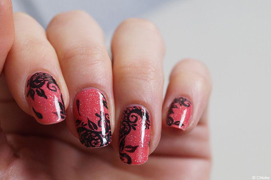 Nail art - Petite dentelle parisienne