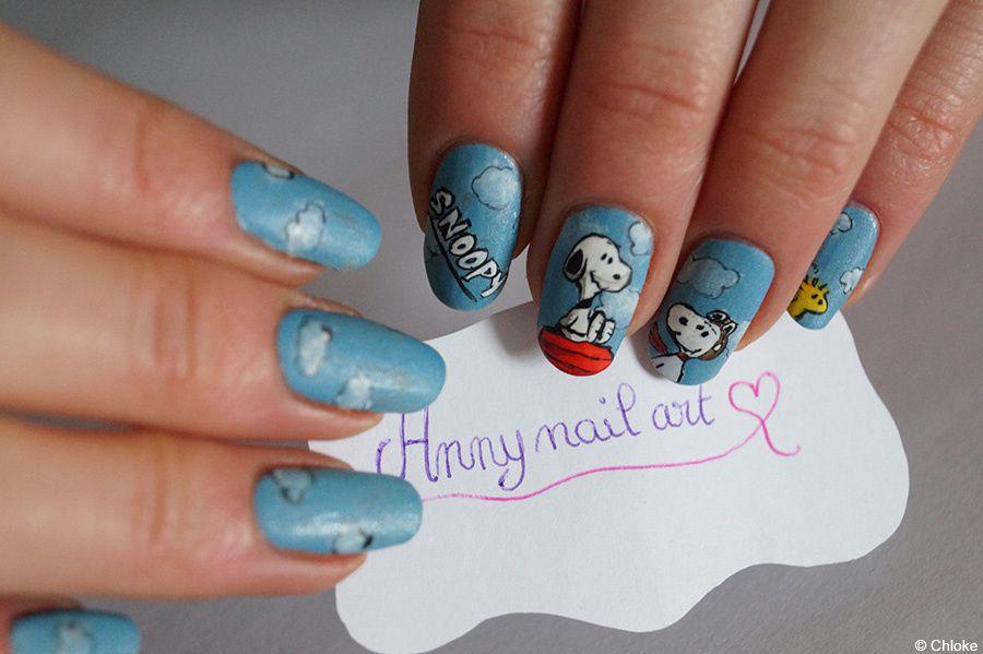 Concours nail art - &quot&#x3B;Snoopy dans tous ses états&quot&#x3B;
