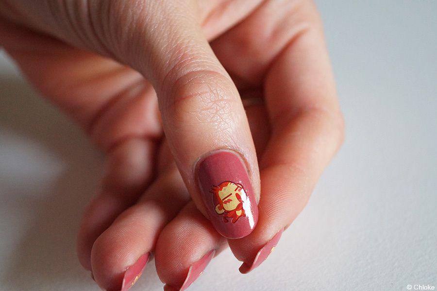 Nail art - Que de singeries !