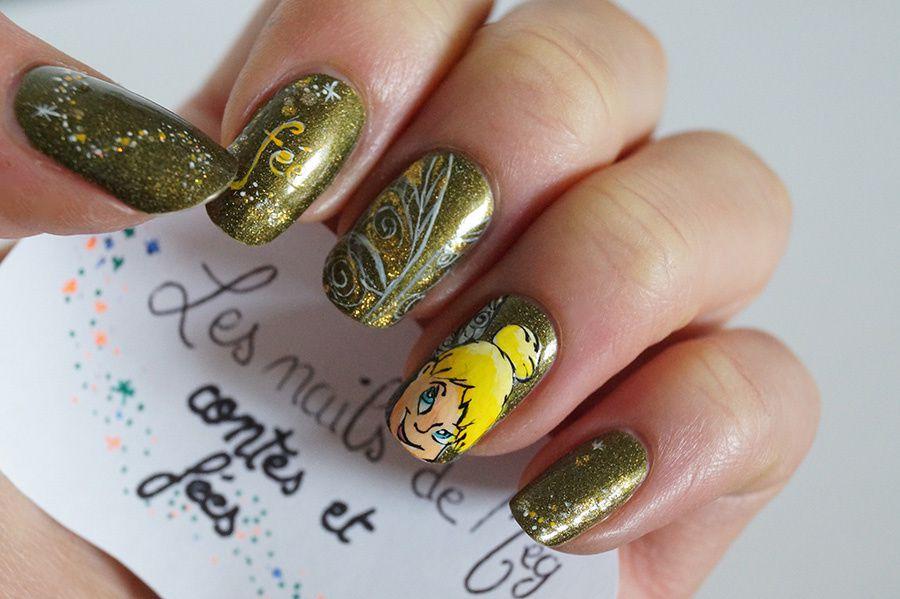 Concours nail art - Contes et fées