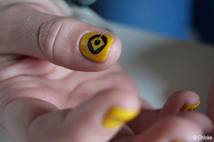 Friend nails - Minion sur Mathilde