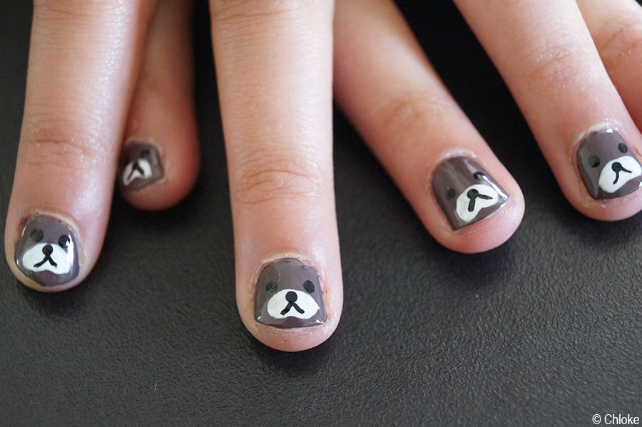 Family nails - Petits Rilakumma sur ma cousine